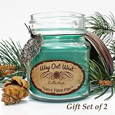 pine scented candles