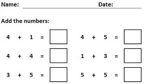 addition and subtraction random number generator worksheets for
