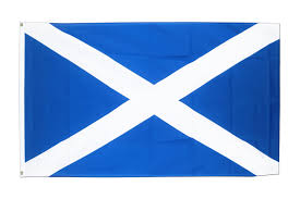 St Kitts Flag St Andrews Cross Flag 5 U0027 X 3 U0027 Navy Blue Saltire Scotland Scottish
