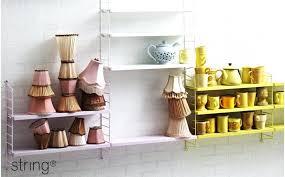 etagere bureau design design d intérieur string etagere room shelves pocket grey