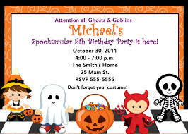 wonderful kids halloween party invitation wording for unique