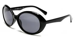 black samba samba shades retro hepburn style polarized sunglasses black