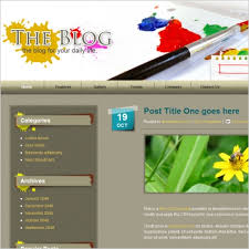 free blog website templates free website templates for free