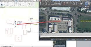 autocad to revit geolocation jpg