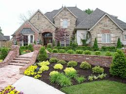 Curb Appeal Atlanta - curb appeal landscaping atlanta pavillion home designs front