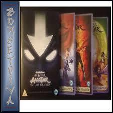 avatar airbender complete books 1 2 u0026 3 boxset brand