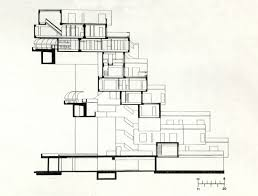 frank gehry floor plans how to draw a section of building view house architectural drawing