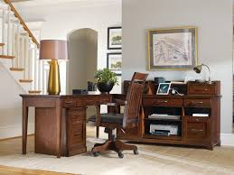 L Shaped Desks Home Office Hamilton Home Wendover L Shaped Desk Unit With Computer Credenza