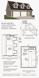 1 5 Car Garage Plans Garage Plans Blog Behm Design Garage Plan Examples September 2014