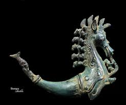 Indonesia Home Decor Bronze Sumatran Naga Morsarang From Batak Indonesia