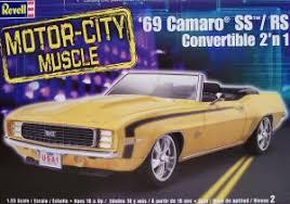 1969 camaro rs ss convertible revell 85 2147 1 25 1969 camaro rs ss convertible kit look