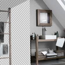 rasch triangle stripe pattern kitchen bathroom vinyl wallpaper 887907