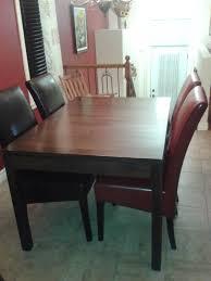 table de cuisine chaises cuisine en l avec table