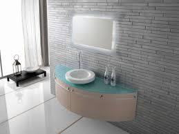 bathroom wall mirror used lighting below half round bathroom