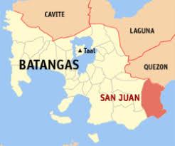 san francisco quezon map san juan batangas wikivisually