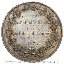 chambre de commerce de marseille médaille grand module chambre de commerce de marseille par domard 1878