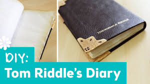 harry potter diy tom riddle u0027s diary lauren fairweather collab
