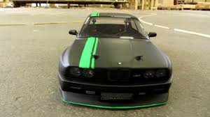 Green And Black Mustang Rc Bmw E30 New Look Drifting Matte Black And Fluor Green Youtube