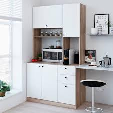 homcom 71 wood kitchen pantry storage cabinet living skog pantry kitchen storage cabinet large white