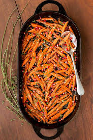 honey maple roasted carrots the café sucre farine