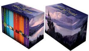 harry potter box complete collection books 1 7