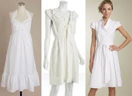 top 5 white summer dresses