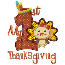 thanksgiving with turkey applique machine