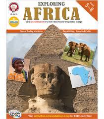 exploring africa resource book grade 5 8 carson dellosa publishing