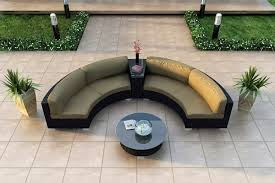 Curved Couch Sofa by Curved Sofa Modern Curved Sofa