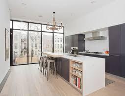 plan de cuisine avec ilot plan de cuisine moderne cuisine meublee meubles rangement