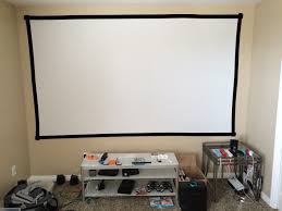home theater projector stand diy home theater screen with pictures