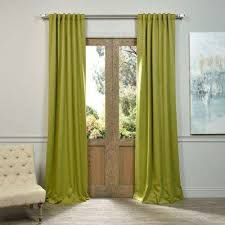 Green Checkered Curtains Green Curtains U0026 Drapes Window Treatments The Home Depot