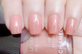 this exactly awesome beautiful le vernis baby pink nail polish