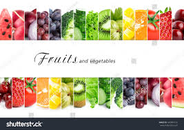fresh color fruits vegetables healthy food stock photo 342891614