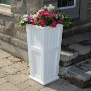 Cheap Tall Planters by Tall Outdoor Planters