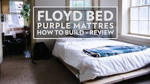 how to floyd bed and purple mattress review not sponsored
