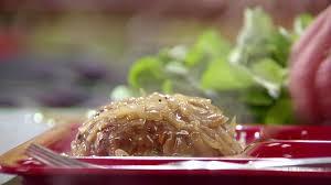 turkey mushroom gravy review by salisbury steak with mushroom gravy recipe sandra lee food network