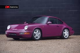 purple porsche 911 porsche 911 964 carrera rs for sale vehicle sales dk engineering