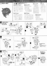 mg aile strike gundam ver rm english manual u0026 color guide mech9