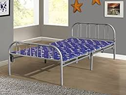 Foldable Twin Bed Amazon Com Home Source Industries Butterfly Metal Folding Twin