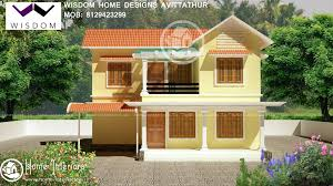 style home designs 1300 sq ft new kerala style home design in 8 cents