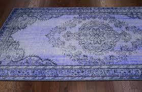 Purple Carpets New Traditional Purple Overdyed Grove Area Rug Carpets Polyamide