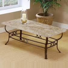 Ivory Coffee Table Hillsdale Brookside Ivory Coffee Table With Fossil Top 4815otc