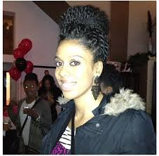 Styles To Wear While Transitioning To Natural Hair - transitioning series protective styling with braid twist