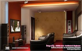 beautiful home interior designs by green arch kerala home home theater