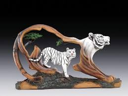 white tiger in tiger frame home decor los elephants etc