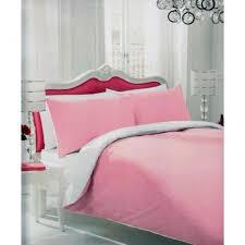 Plain Duvet Cover Sugar Stripe Plain Dyed Polka Dot Reversible Duvet Cover Bed