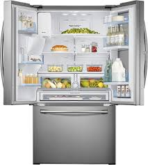 samsung showcase 27 8 cu ft french door refrigerator with thru