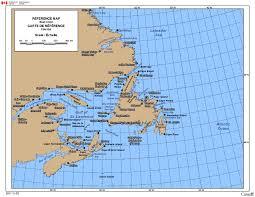 Map Of Canada East Coast Of Canada Map East Coast Of Canada The Canadian Nature