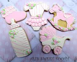 ali u0027s sweet tooth baby shower cookies cookie connection